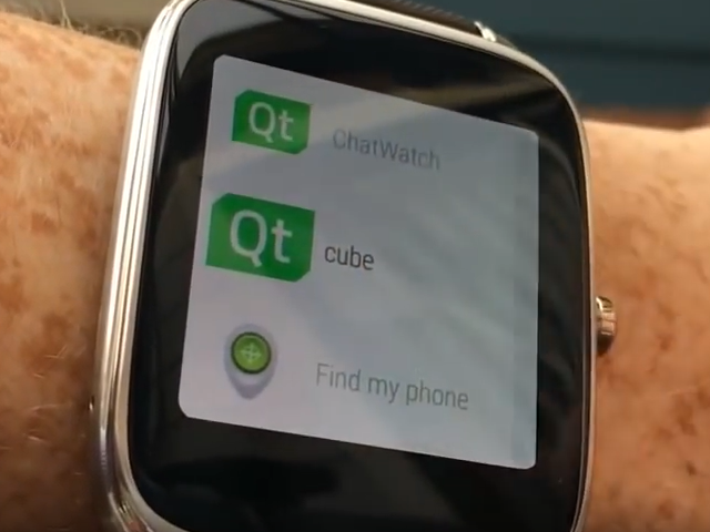 Qt Android Wear
