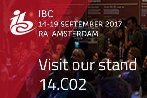 Come visit our stand 14.C02 at IBC show